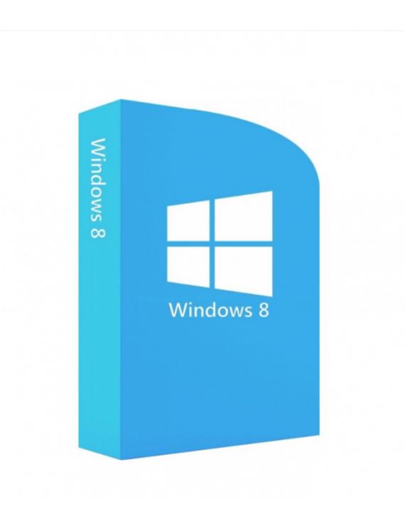 Microsoft Windows 8 Español, 64-bit, DVD (OEM)