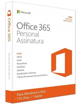 Office 365 Personal ESD 1 Usuario 5 Dispositivos PC y MAC para uso en Hogar