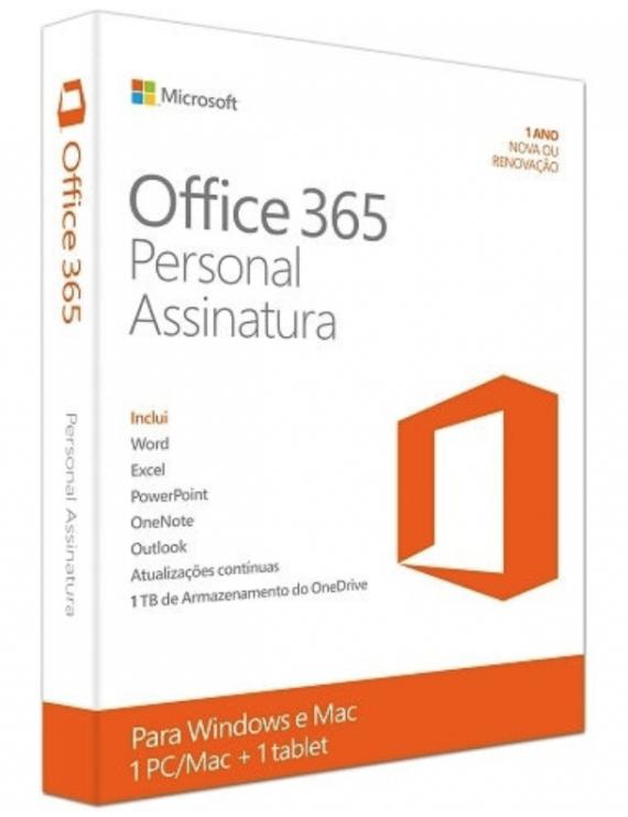 Office 365 Personal ESD 1 Usuario 5 Dispositivos PC y MAC para uso en Hogar